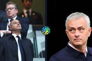 Levy and Mourinho