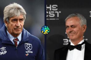 mourinho, pellegrini, premier league
