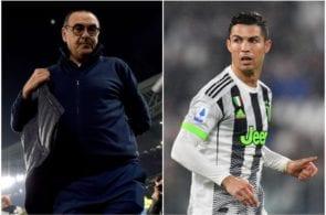 Sarri and Ronaldo