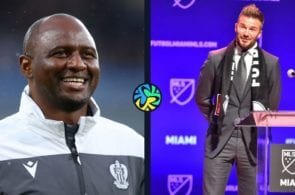 Beckham, Vieira