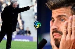Sir Alex Ferguson, Gerard Pique