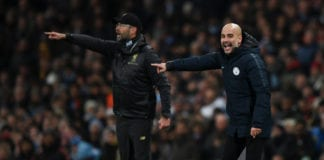 Klopp, Pep Guardiola