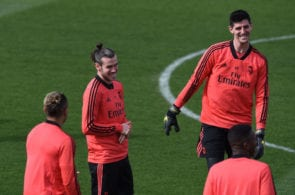 courtois, bale, real madrid