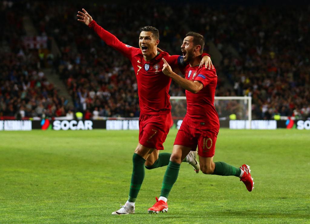 Cristiano Ronaldo, Bernardo Silva, Portugal