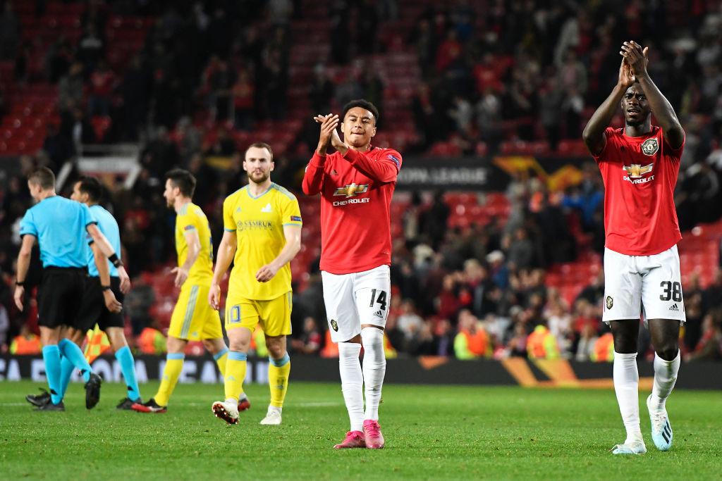 Manchester United v FK Astana