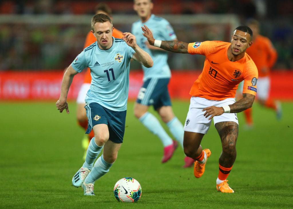 Northern Ireland, Netherlands, Memphis Depay