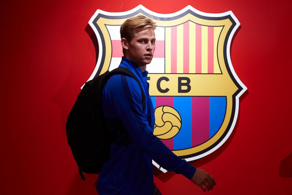 frenkie de jong, barcelona, la liga