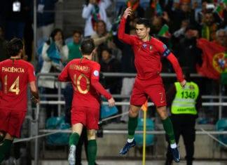 cristinao ronaldo, portugal
