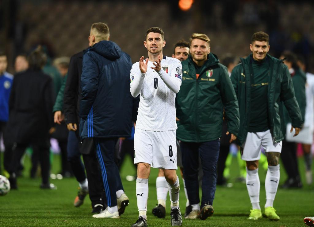 Jorginho Italy Euro 2020