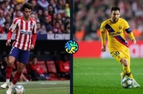 Atletico Madrid vs Barcelona, La Liga