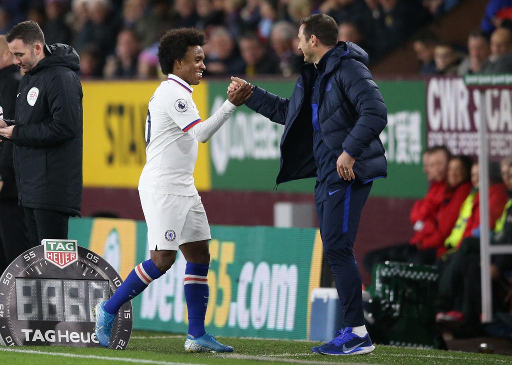 Willian is Lampard's man amongst boys
