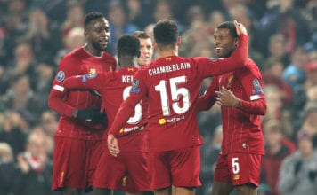 Liverpool FC v KRC Genk: Group E - UEFA Champions League image