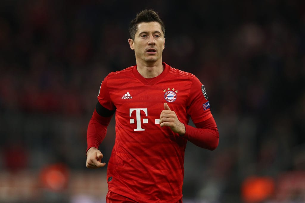 Robert Lewandowski, Bayern, Bundesliga