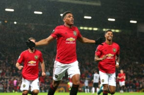 Anthony Martial, Manchester United, Europa League, Partizan