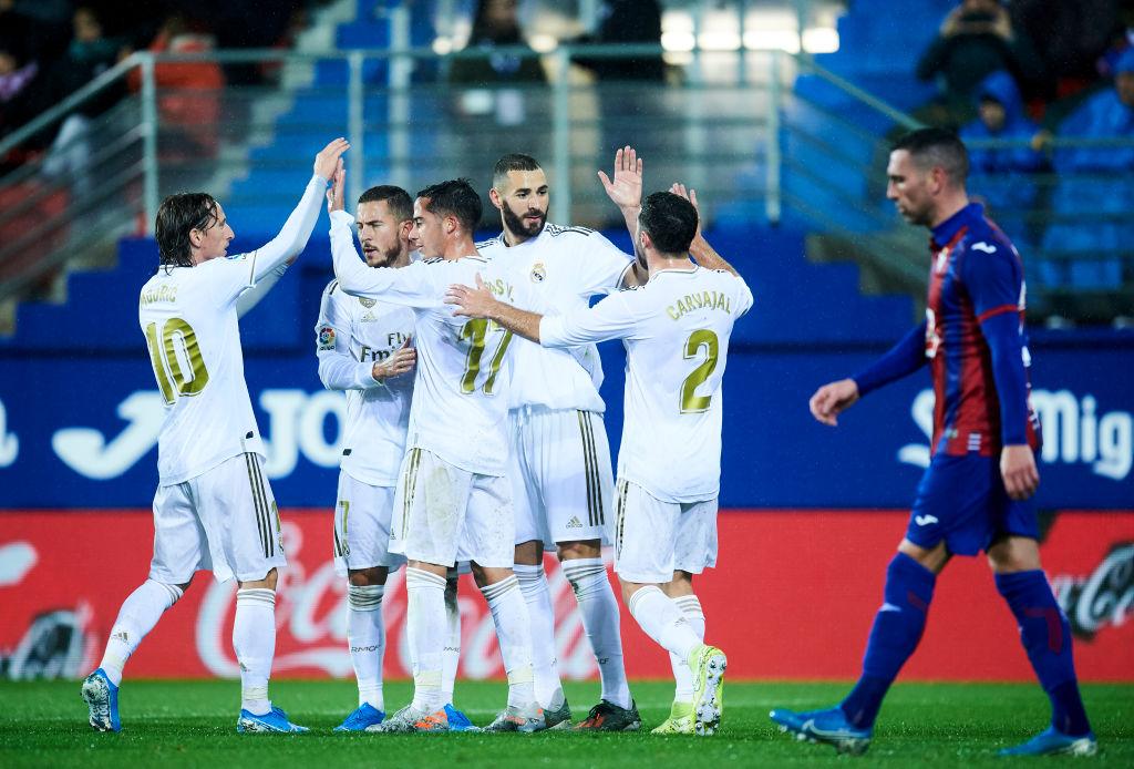 Real Madrid, SD Eibar, La Liga