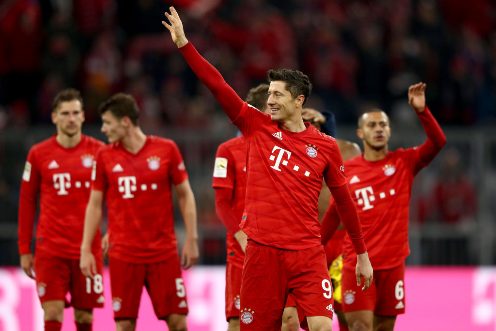 Lewandowski downed BVB with two goals, Wilfried Zaha, Crystal Palace