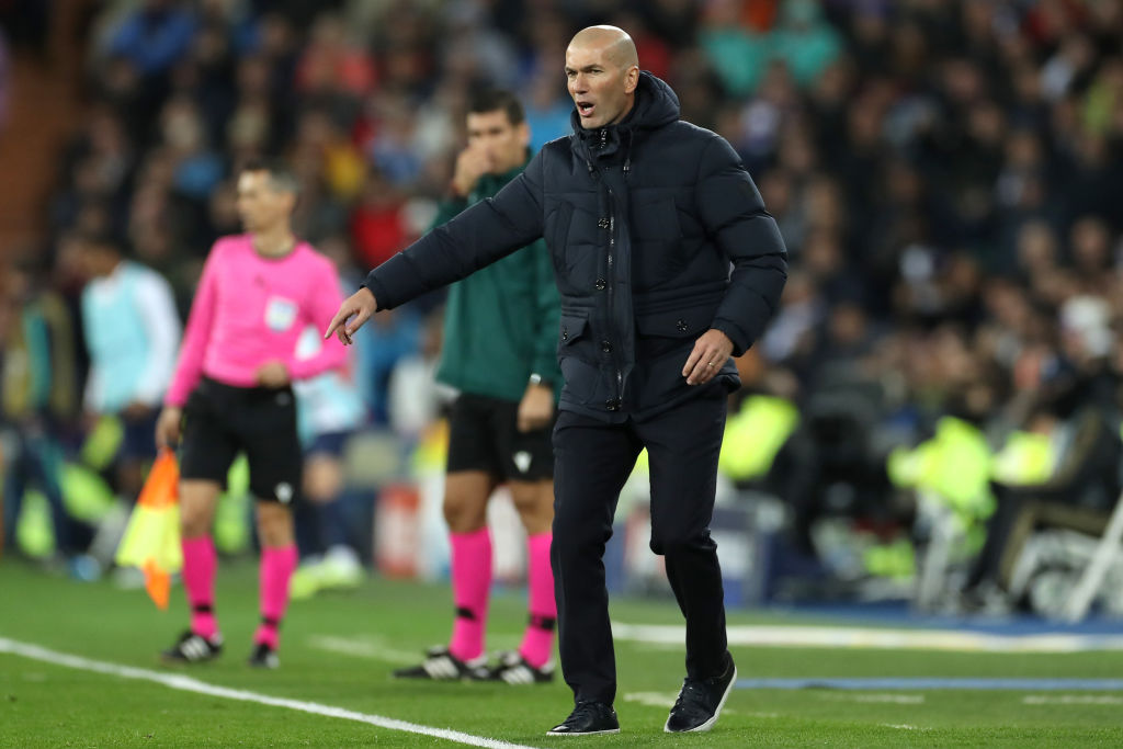 Zidane, Real Madrid