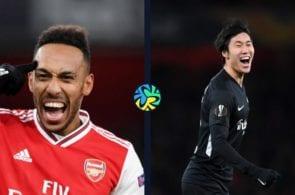 Arsenal vs Eintracht Frankfurt - Europa League