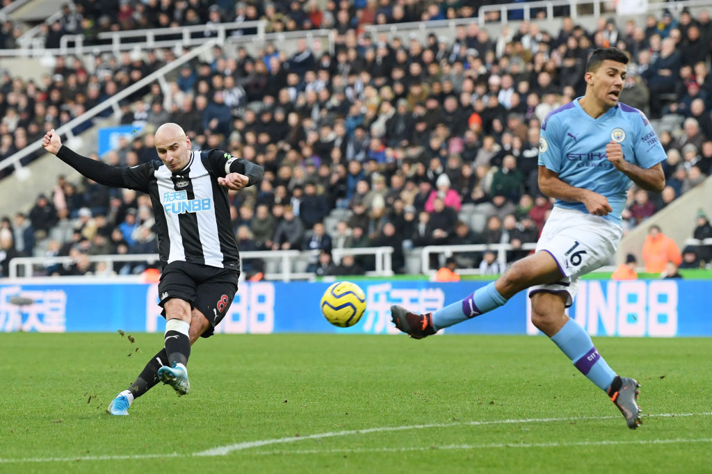 Manchester City, Newcastle United