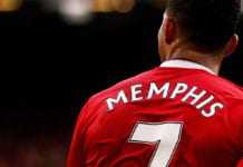memphis depay, manchester united