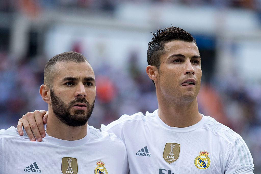 Karim Benzema, Cristiano Ronaldo, Real Madrid