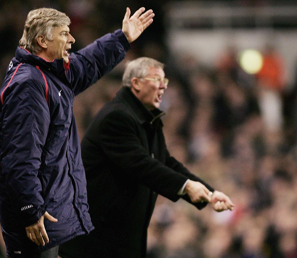 Arsene Wenger, Alex Ferguson