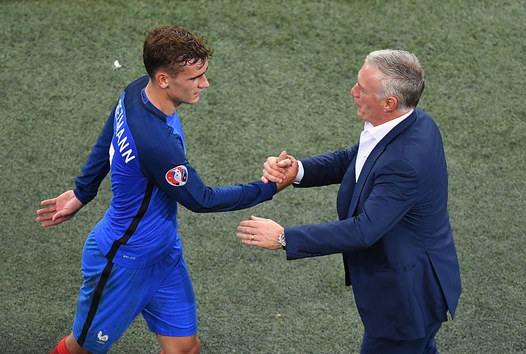 didier deschamps, antoine griezmann, france