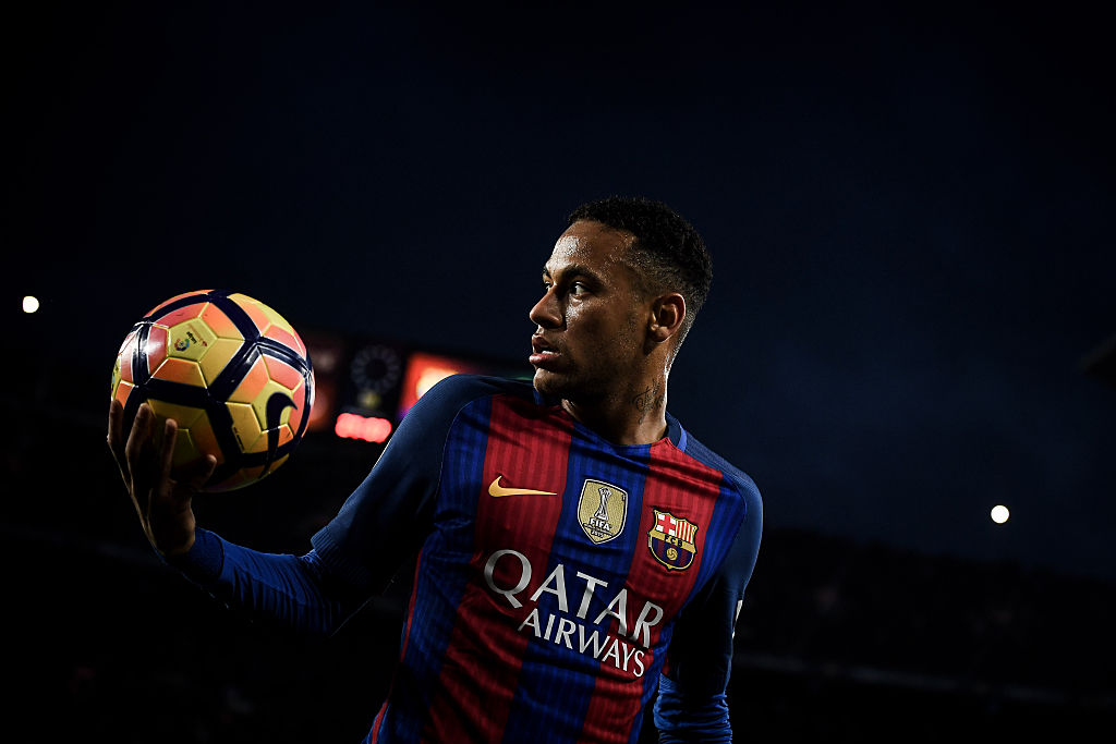 Neymar, Barcelona, La Liga