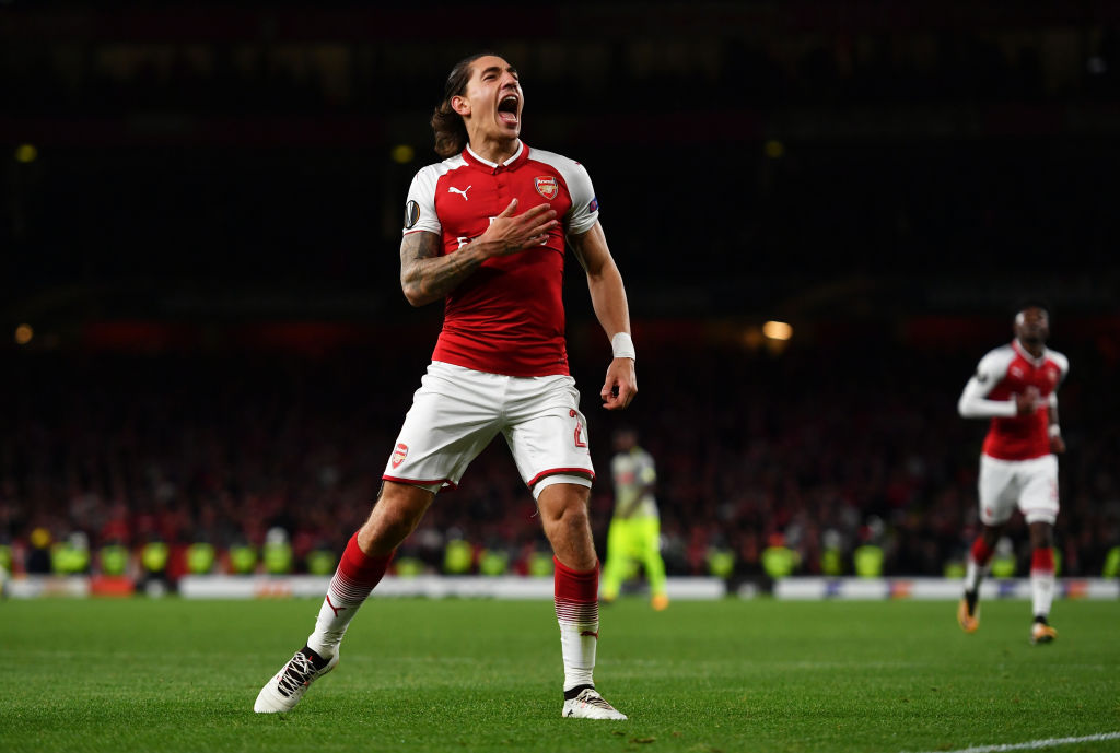 hector bellerin, arsenal