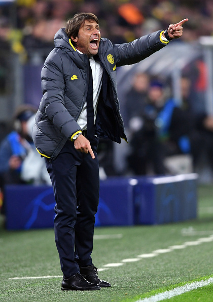 Antonio Conte disappointed with Borussia Dortmund defeat