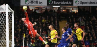 Outstretched Ben foster saves Pulisic's first-half header