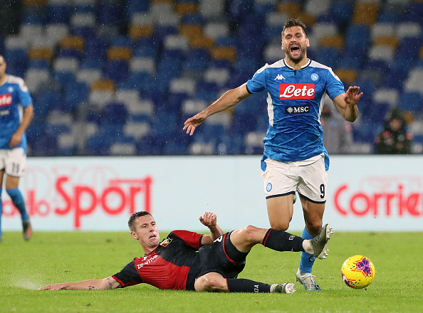 Napoli's winless streak continues