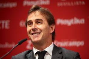 Julen Lopetegui, Sevilla assault La Liga title