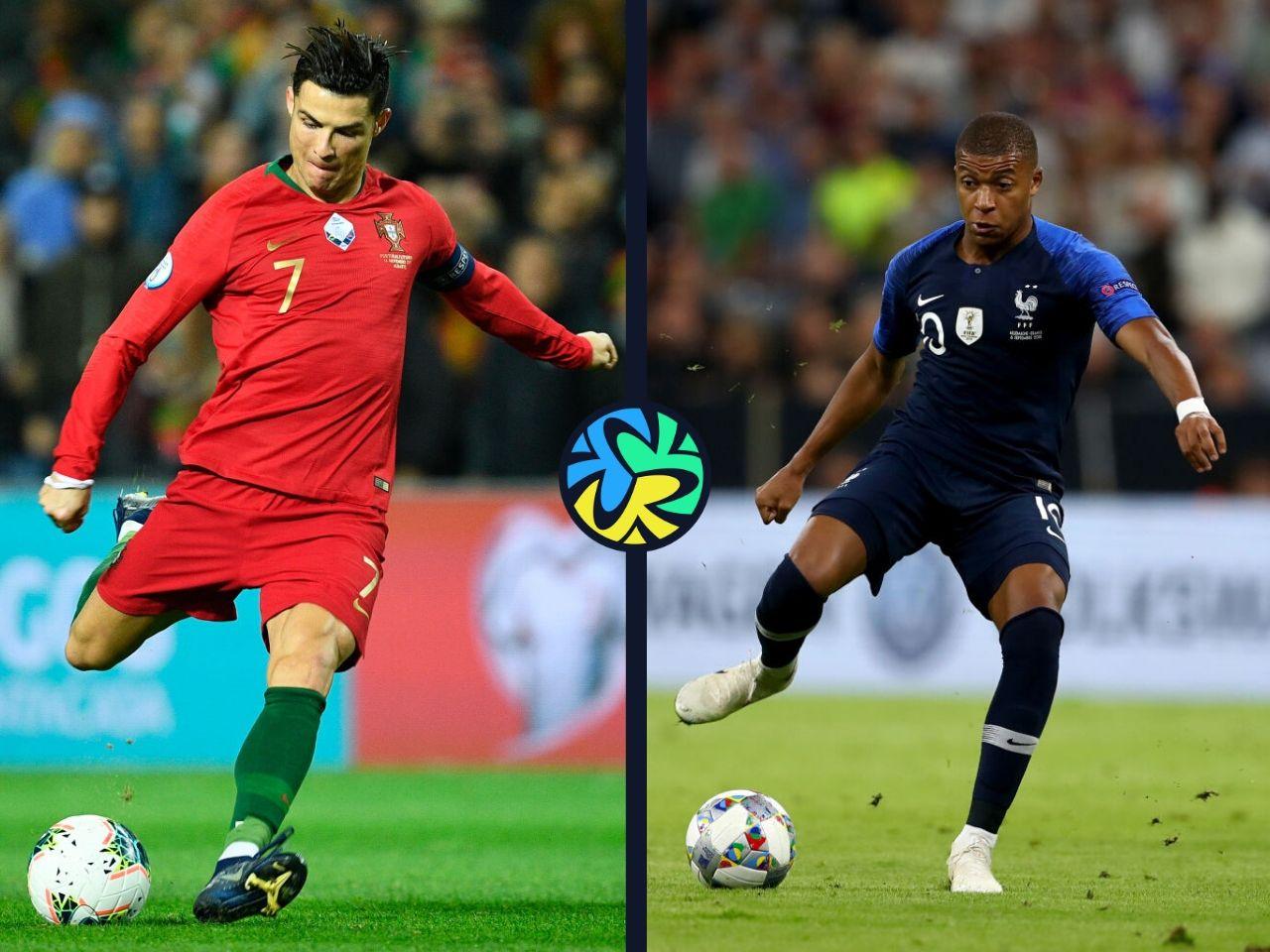Ronaldo, Mbappe