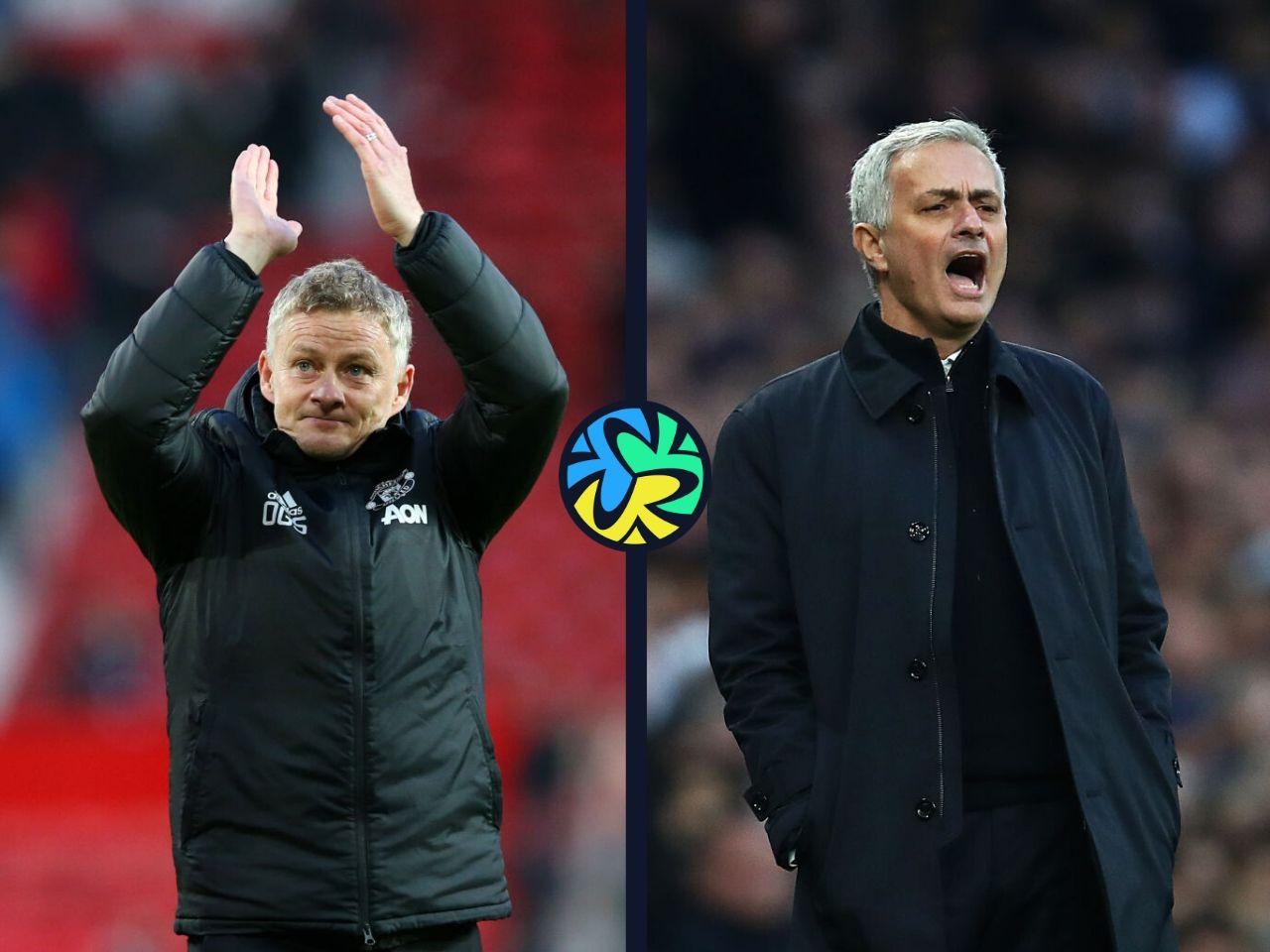 Manchester United, Tottenham Hotspur, Ole Gunnar Solskjaer, Jose Mourinho