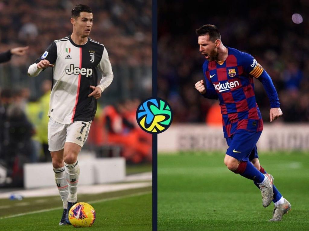 Lionel Messi, Cristiano Ronaldo, records
