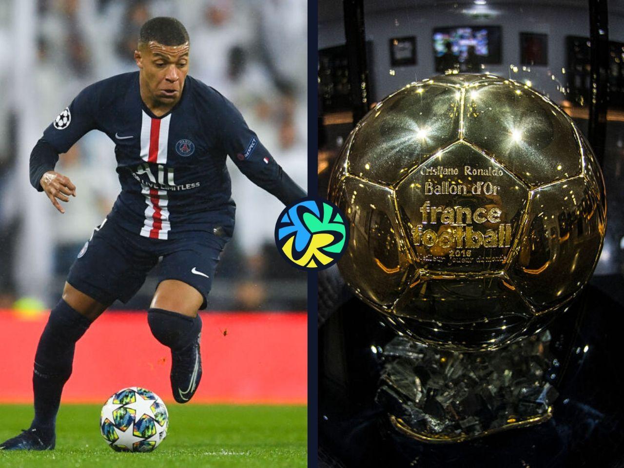 mbappe, ballon d'or
