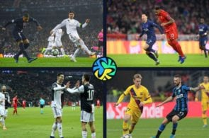 Top 5 clubs from the Champions League's group stage