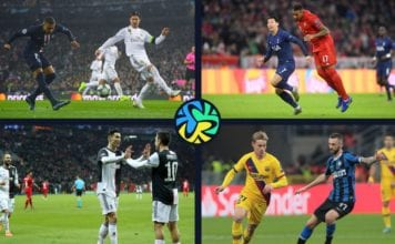 Top 5 clubs from the Champions League's group stage image