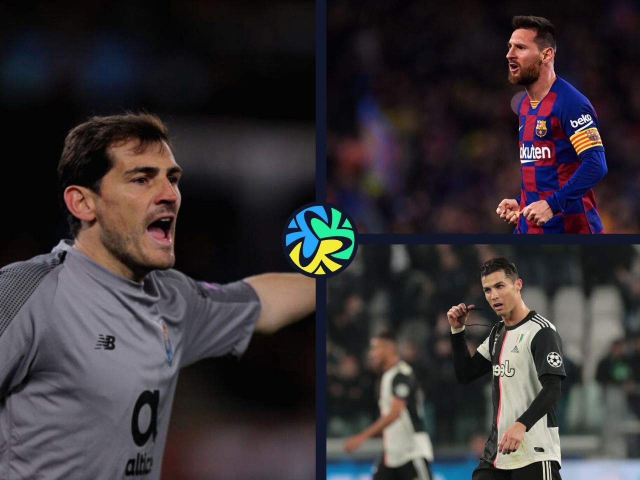 Casillas, Messi, Ronaldo