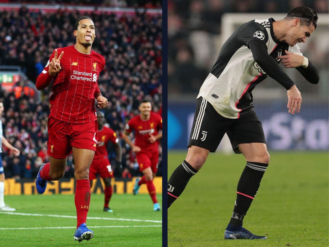 Virgil van Dijk, Cristiano Ronaldo, Liverpool FC