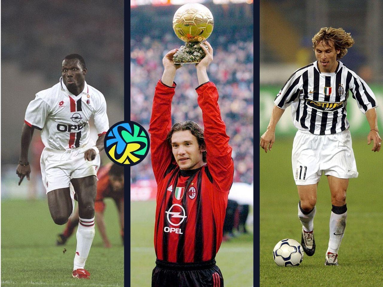 Ballon d'Or, Top 5