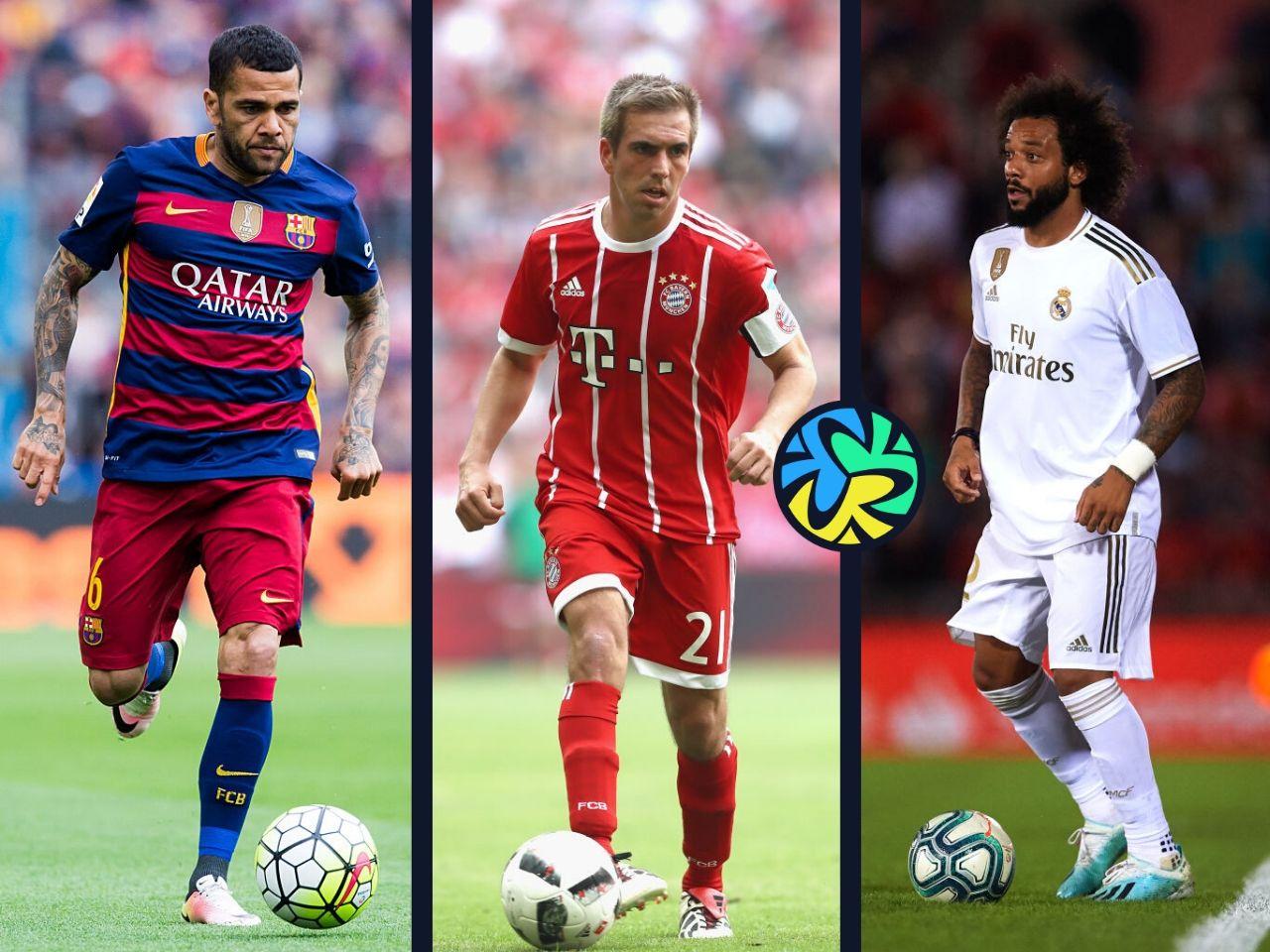 Top 5, full-backs