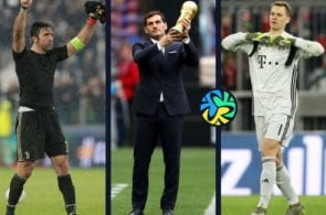 Top 5, goalkeepers