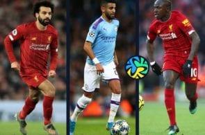 Mohamed Salah, Sadio Mane, Hakim Ziyech, Riyad Mahrez