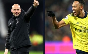 Aubameyang pinpoints Ljungberg's half-time talk as an inspiration for Arsenal's comeback image