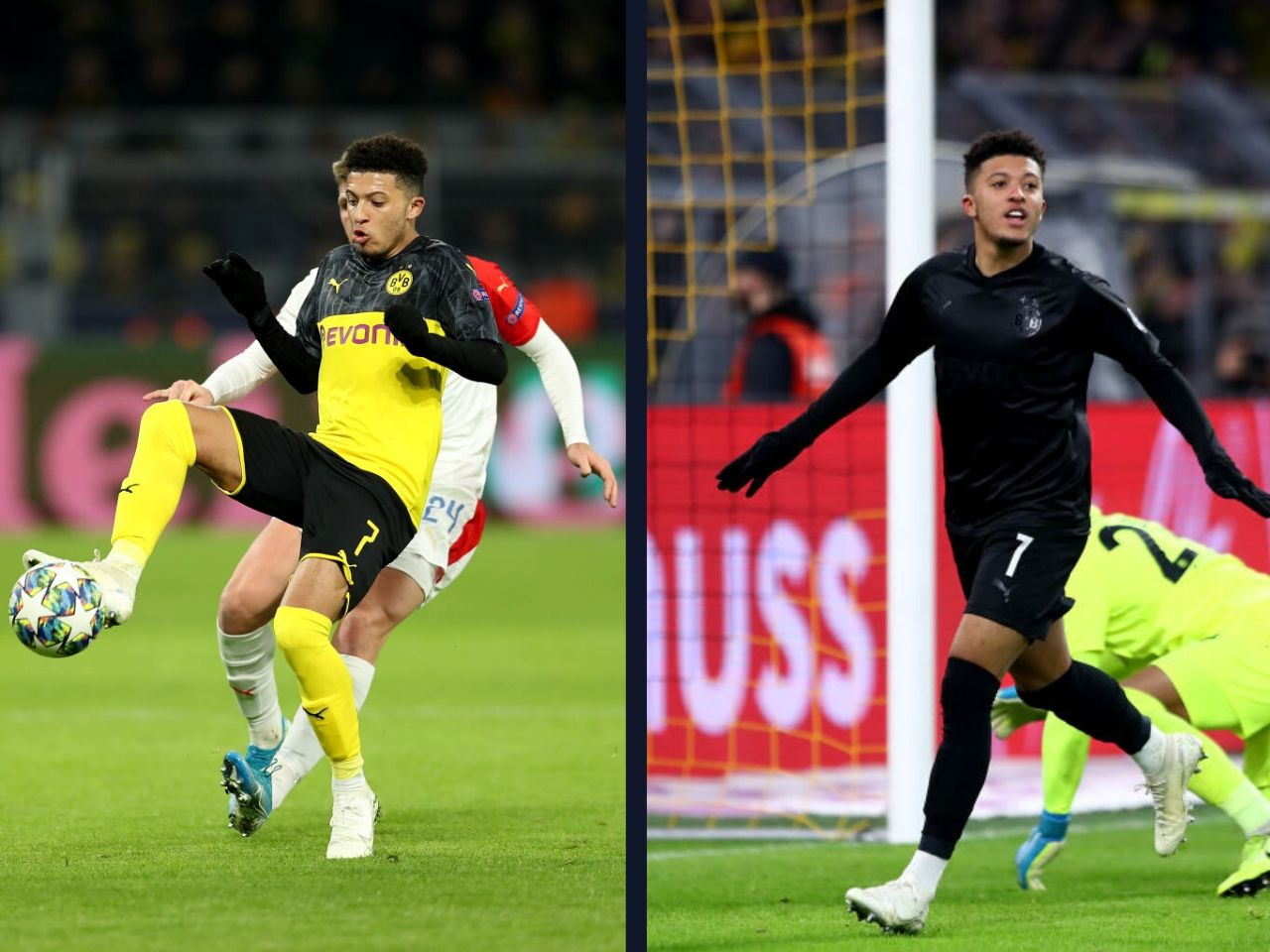 Jadon Sancho, Borussia Dortmund, Bundesliga, Lucien Favre