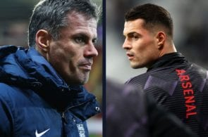 Granit Xhaka, Arsenal FC, Premier League, Jamie Carragher
