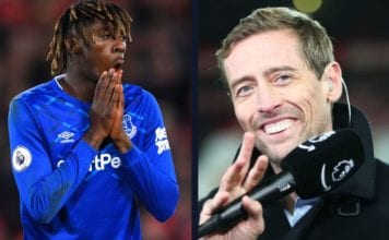 Crouch takes a funny dig at Everton image