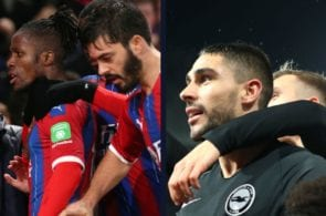 Crystal Palace and Brighton share pleasantries in the M23 derby